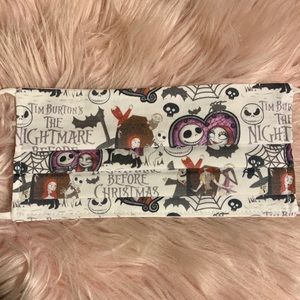 Jack and sally face mask